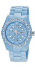 EDC by Esprit Disco Glam Frosty Blue EE900172014 Analog  Kunststoff Hellblau