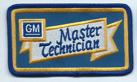 GM Master Technician advertising patch 2-1/2 X 4-3/8 #5020