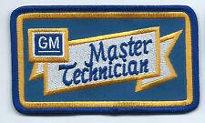 GM Master Technician advertising patch 2-1/2 X 4-3/8 #2303