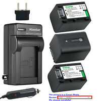 Kastar Battery Wall Charger for Sony NP-FH70 & Sony HDR-CX12 HDR-CX500 HDR-CX505