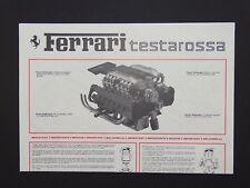 Pocher 1:8 Motor Bauanleitung Ferarri Testarossa K51 K53 K63 neu