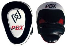PDX Rex Leather Focus Pads,Hook and Jab Mitts,MMA Kick Boxing Muay Thai Sparring