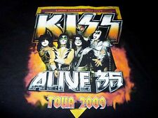 Kiss 2009 Tour Shirt ( Used Size 2XL Missing Tag ) Very Nice Condition!!!