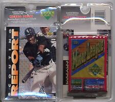 Michael Jordan UD Baseball Scouting Report Blister #SR1 16-cd/Pack & Jumbo Card