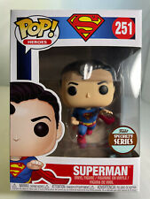 Funko POP 251 Flying Superman 80th Anniversary Specialty Series Exclusive