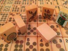 Vintage Bakelite Mahjong Mah Jongg Set Circa 1950s, 152 Tiles, Nice One Bams