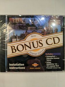 Learn French, Etc. Now Transparent Language CD Bonus Grammar PC Mac. Ships Free!