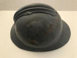 Original WW1 / WW2 French Military Adrian Type Helmet