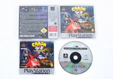 CRASH BANDICOOT 2: L'IRA DI CORTEX-SONY PLAYSTATION 1 PS1 GIOCO & Custodia PAL