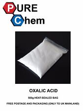 OXALIC ACID 500g HEAT-SEALED BAG for Hull Deck GRP Cleaner & Rust Remover