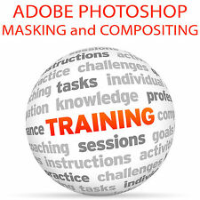 Adobe Photoshop masking y composición parte 1-Video Tutorial DVD de entrenamiento