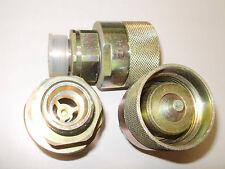 2Stk Schraub Hydraulik Schnellkupplung Hydraulikmuffe 85.0301 5cmA 4,6cmI 3cmdo