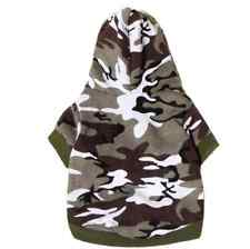 dog clothes t shirt tee Sweatshirt Camouflage Coats Hoodies dogs pets clothing