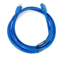 0.5/1/2/3/5M USB 3.0 A Male to Female Extension Data Sync Cord Cable 5Gbps NEW