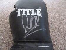 David Haye autograph - signed boxing glove - Boxer - Boxing