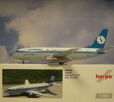 Herpa Wings 1:200  Boeing 737-200  Sabena  OO-SDN  559942
