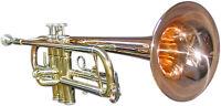 Goldmessing Trompete, sehr hochwertig