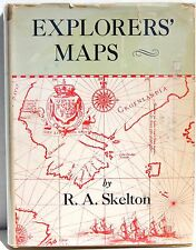 Explorers' Maps: Chapters in the Cartographic Record of Geographical Discovery