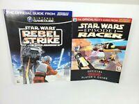 Star Wars Rebel Strike Gamecube Racer N64 Strategy Guide Books Nintendo Power