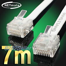 7M 20FT CAT6 Super Ultra Slim Flat Ethernet Patch Network Lan Cable RJ45 1GB NEW