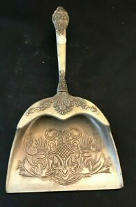 GODINGER ART CO. SILVER PLATED BAROQUE SILENT BUTLER CRUMB TRAY