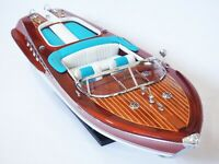 "RIVA AQUARAMA WOOD BOAT MODEL 21"" (53 cm)"