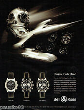 PUBLICITE ADVERTISING 026  2004  Bell & Ross  montres  collection Pilot & Diver