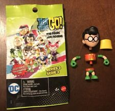 Teen Titans Go! Series 3 Blind Bag Robin Mini Figure New Unassembled w/ Bag