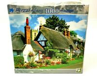 Puzzlebug NEW English Cottage Welford on Avon England 1000 PC Jigsaw Puzzle 3709