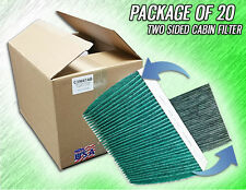 C35667AB HQ CARBON ANTIBACTERIAL CABIN AIR FILTERS - CASE OF 20 - MADE IN USA
