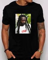 Supreme Buju Banton Tee Navy S M L Xl 2xl 3xl Ss19 T-Shirt.us size