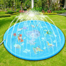 "67"" Sprinkler Splash Pad Play Mat Center Toddler Pool Water Toy Outdoor For Kids"