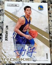 JEREMY LIN 2010 Panini R&S Auto SP Rookie Card RC 400/499 Golden State Warriors