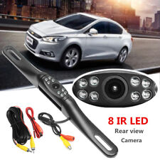 LED Car Rear View Camera Reversing Backup Parking License Plate Night Vision Cam