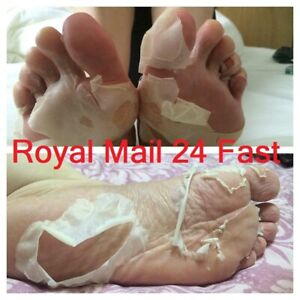 Exfoliating Peel Renewal Foot Mask Baby Soft Feet Remove Dead Skin Aleo Vera UK