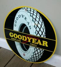 Goodyear vintage logo tire sign .. gas oil gasoline