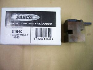 "Saeco #640 rifle bullet mould (mold), 40 cal, .408""-.410"" dia., 370 grain RNFP"