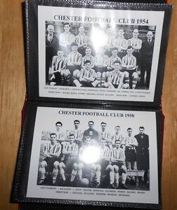 CHESTER FOOTBALL CLUB PHOTO ALBUM (1920's - 1970's)