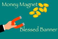Money Magnet Voodoo Banner Altar Cloth Ritual Spell Kit Success Cash Win