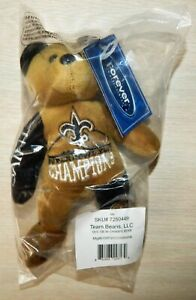 New Orleans Saints  Super Bowl XLIV Champions Champ Bear NFL Licensed NEW