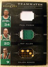 2011 PANINI PAUL PIERCE RAY ALLEN RAJON RONDO TRIPLE LOGO JERSEY PATCH SP # /49
