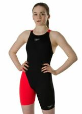 Speedo Girls Fastskin Endurance+ Openback Kneeskin: 24 Inch / 6 Years