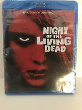 Night of the Living Dead (Blu-ray Disc, DIGITAL COPY-2017) - NEW - Sealed.