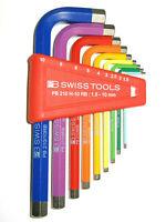PB SWISS TOOLS 210 H-10.RB Sechskant Stiftschlüssel kurz ohne Kugelkopf  NEU