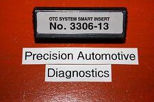 No. 3306-13 OTC Genisys 4000-Enhanced Monitor Elite Scanner Scan Tool Insert SSI