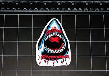 Santa Cruz SpeedWheels Great White Shark skateboard decal 80s sticker skate
