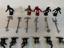 Genuine Bionicle LEGO Minifigure Bundles various characters and accessories