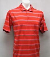 New Mens Antigua MEDIUM short sleeve polyester spandex golf polo shirt