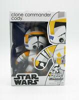 Hasbro Mighty Muggs CLONE COMMANDER CODY Star Wars Figure New Free Shipping