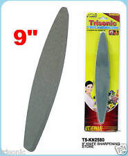 KNIFE SHARPENING STONE 2 SIDED 9 INCH HONING SCISSORS SNIPS KNIFE SHARPENER NEW